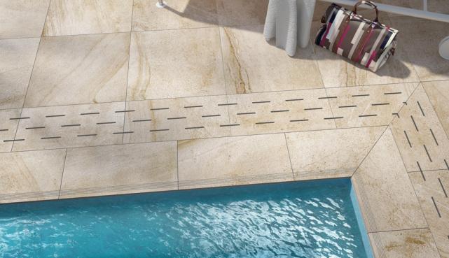 Terrassenfliesen- Terrassenplatten 2cm Feinsteinzeug, Rondine